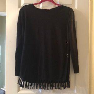 Lilly Pulitzer onyx sweater